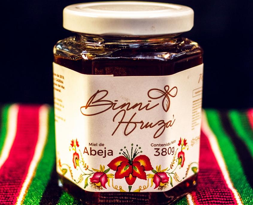 Miel de abeja Binni Hruza